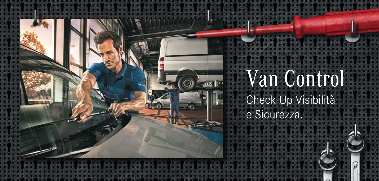 Mercedes-Benz Vito Viano e Sprinter sotto controllo…