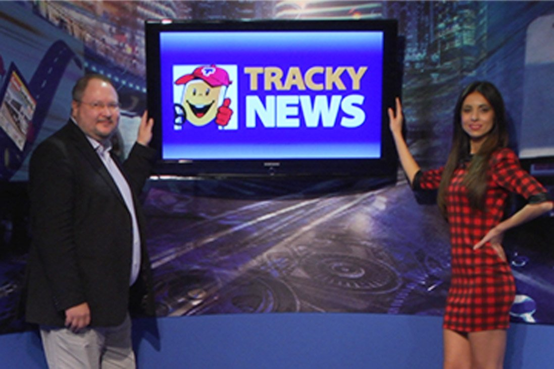 Mobilovan e Goodyear in TrackyNews 72
