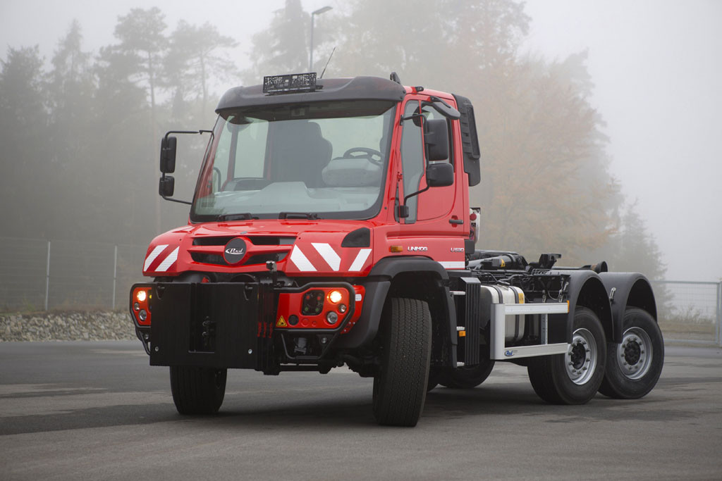 Modified Unimog U 530, Chassis