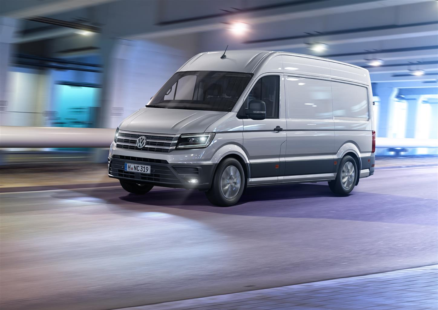 Il nuovo VW Crafter
