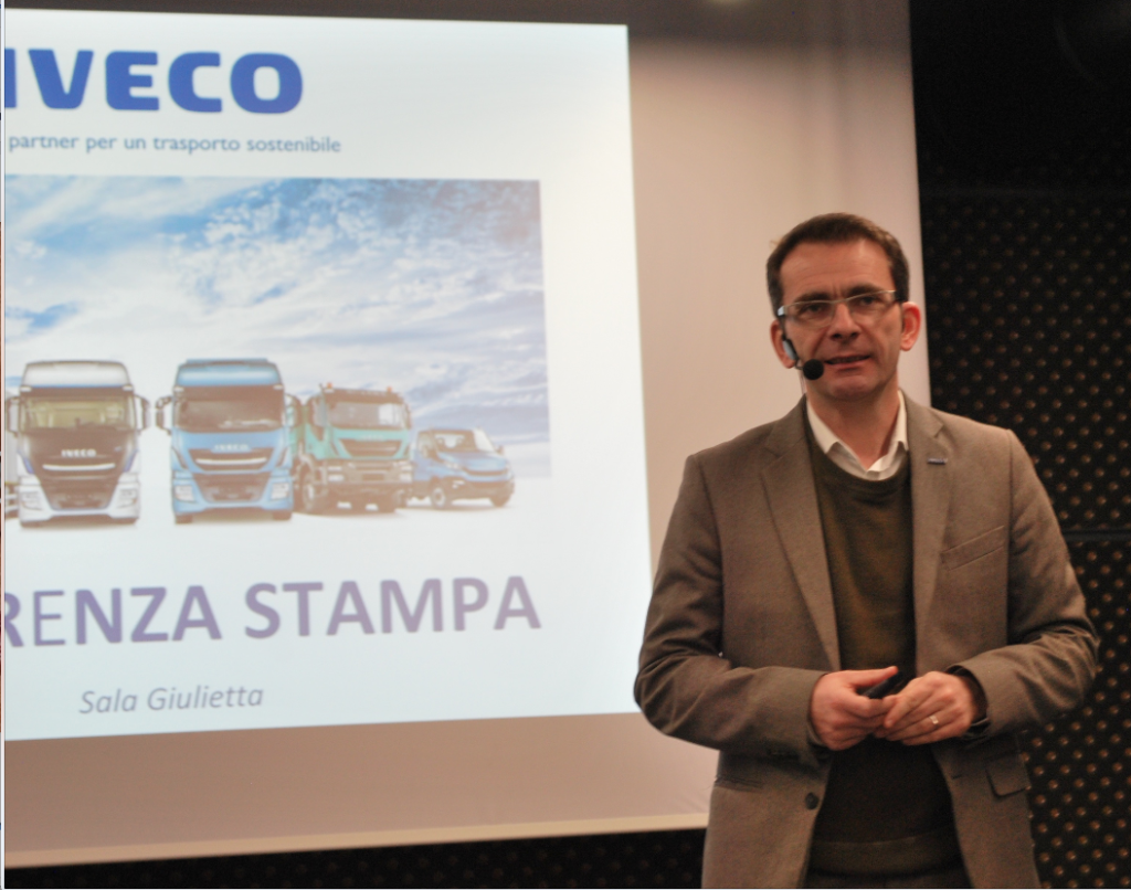Pierre Lahutte, Iveco brand president.
