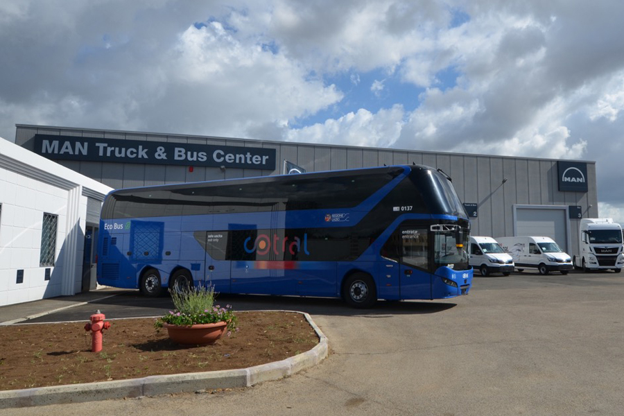 Il MAN Truck & Bus Center di Fiano Romano