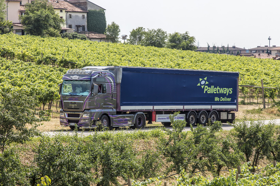 Palletways: cinema e buon vino