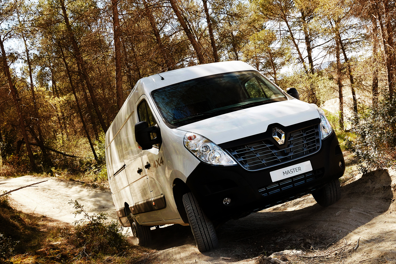 Renault Master 4×4: Extreme Makeover