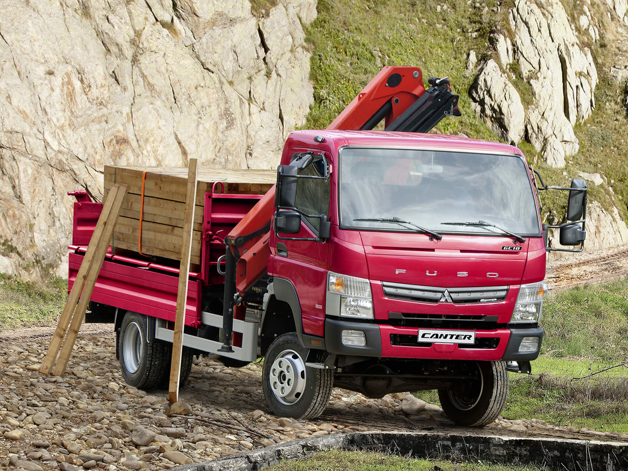 FUSO Canter 4×4: ideale ovunque