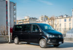 Volkswagen Multivan: van in black