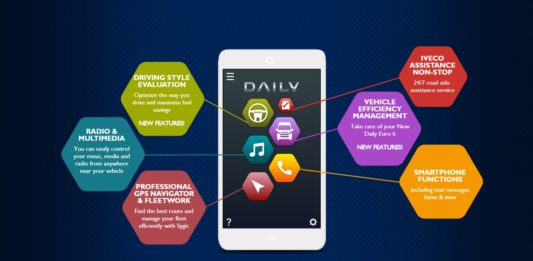 IVECO Daily Business Up app