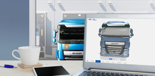 DAF 3D configurator preview