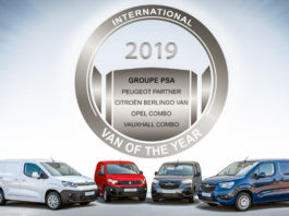 PSA vince il International Van of the Year 2019