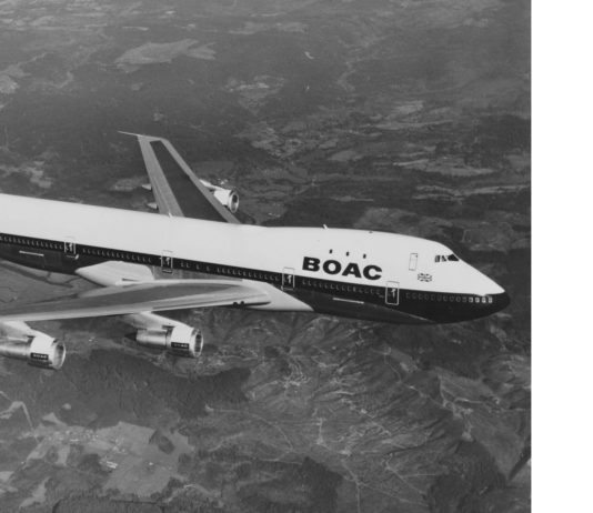 British Airways - Boeing 747