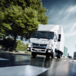 FUSO CANTER ECOHYBRID, GREEN TEST CON TORELLO